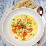Eintopf/Suppe mit Hähnchen