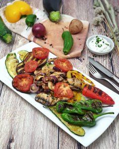 Grillgemüse als Beilage zu Fisch oder Fleisch