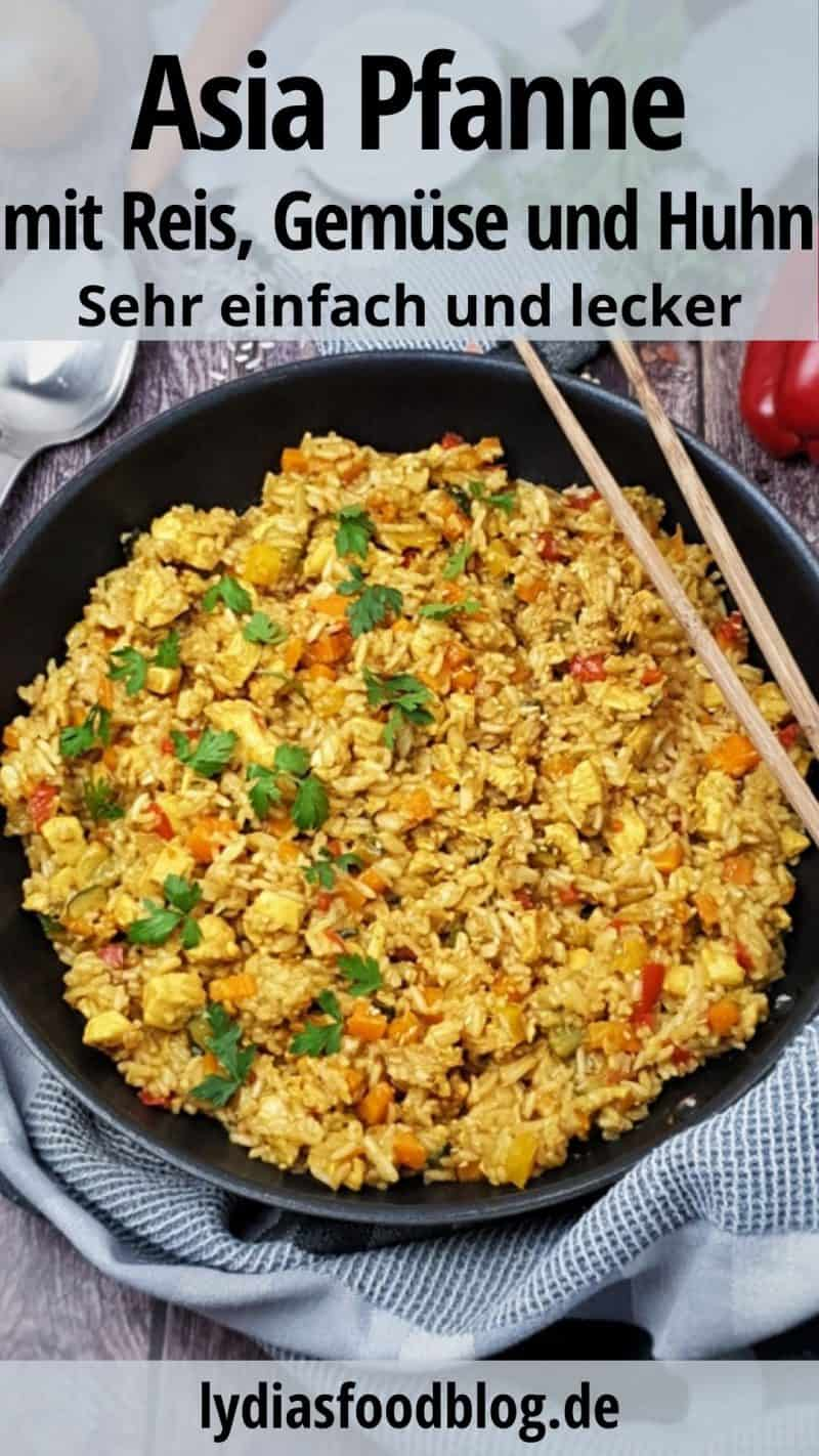 Diät Huhn Pina Reis