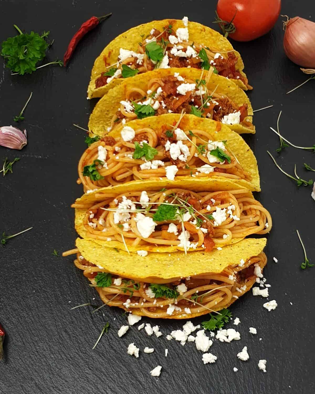 Spaghetti Tacos Ideal Fur Kinder Lydiasfoodblog